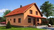 Projekty rodinných domů - Prozi 216