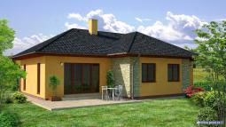 Projekty rodinných domů - Prozi 104