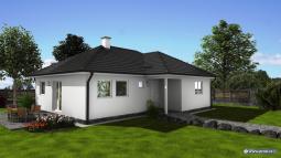 Projekty rodinných domů - Prozi 106