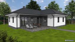 Projekty rodinných domů - Prozi 117