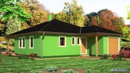 Projekty rodinných domů - Prozi 126