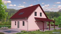 Projekt rodinného domu - Prozi 135
