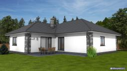 Projekty rodinných domů - Prozi 144