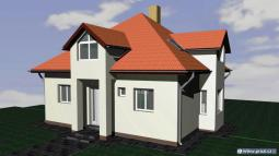 Projekty rodinných domů - Prozi 157