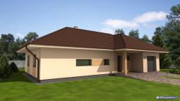 Projekty rodinných domů - Prozi 172