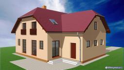 Projekty rodinných domů - Prozi 182