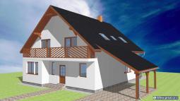 Projekty rodinných domů - Prozi 184