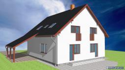 Projekt domu – Prozi 184