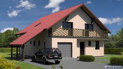 Projekty rodinných domů - Prozi 185