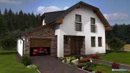 Projekty rodinných domů - Prozi 192