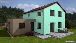 Projekty rodinných domů - Prozi 197