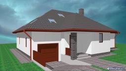 Projekty rodinných domů - Prozi 200