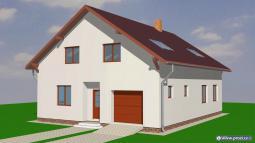 Projekty rodinných domů - Prozi 232