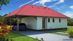 Typový projekt domu - Prozi 75