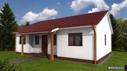 Projekty rodinných domů - Prozi 83