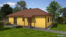 Projekty rodinných domů - Prozi 101