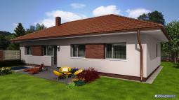 Projekty rodinných domů - Prozi 111