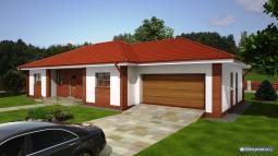 Projekt rodinného domu - Prozi 171