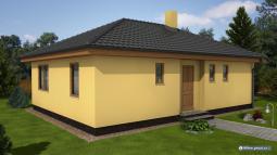 Projekty domů - půdorys 78