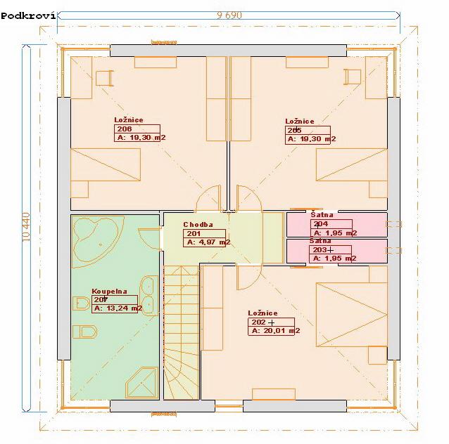Projekty staveb - Prozi 160