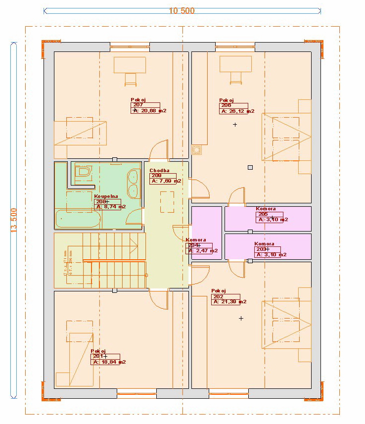 Projekty staveb - Prozi 232