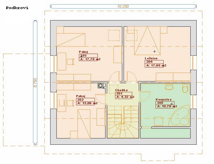 Projekty staveb - Prozi 135