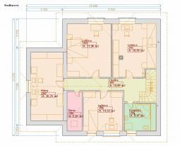 Typové projekty rodinných domů - Prozi 182