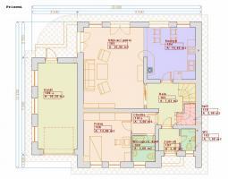 Projekty patrových domů - Prozi 182