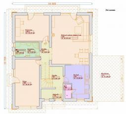 Projekty patrových domů - Prozi 184