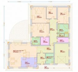 Projekty bungalovů - Prozi 190