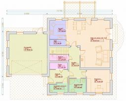 Projekty patrových domů - Prozi 208