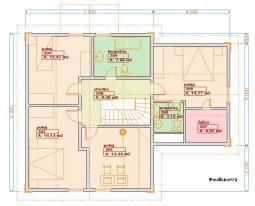 Typové projekty rodinných domů - Prozi 167