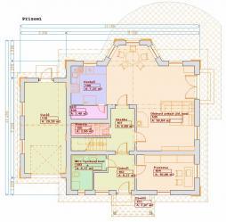 Typové projekty rodinných domů - Prozi 153
