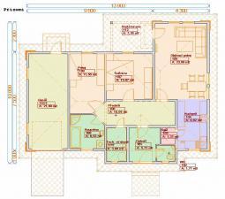 Typové projekty rodinných domů - Prozi 107