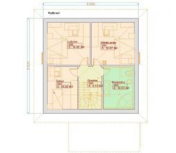 Typové projekty rodinných domů - Prozi 115