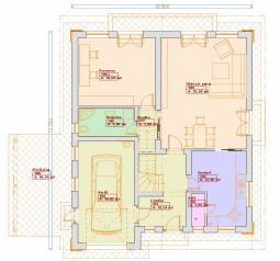 Projekty patrových domů - Prozi 185