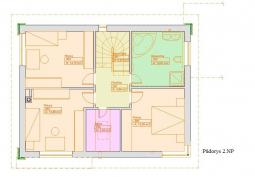Typové projekty rodinných domů - Prozi 155