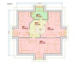 Projekt rodinného domu - Prozi 157