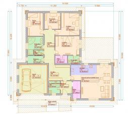 Typové projekty rodinných domů - Prozi 225
