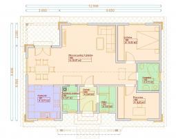 Typové projekty rodinných domů - Prozi 83