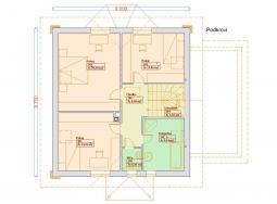 Projekty patrových domů - Prozi 161