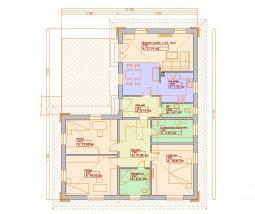 Typové projekty rodinných domů - Prozi 117