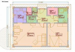Typové projekty rodinných domů - půdorys 78