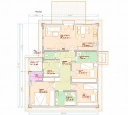 Typové projekty rodinných domů - Prozi 106